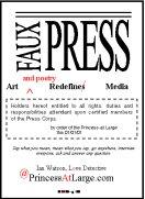 faux press